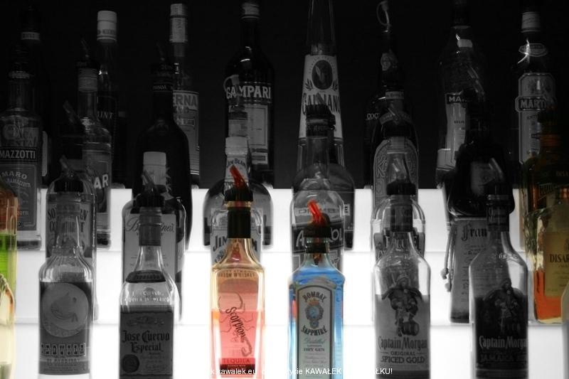 Kolorowe butelki