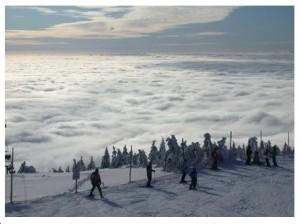 Rokytnice - Łysa hora wczoraj po 14-tej